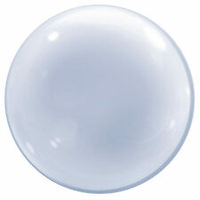 "20"" Clear Deco Qualatex Bubble Balloon Helium Air Quality Wedding Party Item"