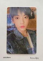 [SOOBIN] 1P OFFICIAL PHOTO CARD [TXT 2021 SEASONS GREETINGS - KPOP GENUINE GOODS