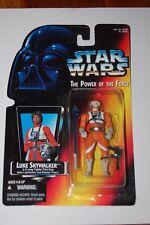 Luke Skywalker X-Wing Short Saber-Star Wars-Power of the Force-Orange Card-MOC