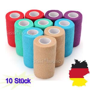 10 Stk. elastische selbsthaftende Ellenbogen Bandage Ziatec Cohesive-Tape Top