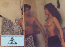 SEXY CORINNE CLERY LUCIO FULCI IL MIELE DEL DIAVOLO 1986  VINTAGE LOBBY CARD #4