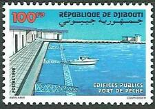 Djibouti Dschibuti 1998 Port of Fishery, MNH, Sc 790, Mi 672, CV €130