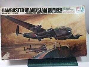 VINTAGE TAMIYA 1/48 LANCASTER BIII DAMBUSTER/GRAND SLAM BOMBER
