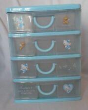 Vintage SANRIO 1978, 2001 HELLO KITTY Angel Wings Plastic Mini Dresser w/Drawers
