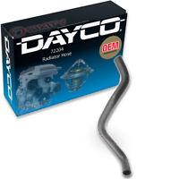 Radiator Coolant Hose-Curved Radiator Hose Lower Dayco 72204