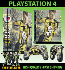 PS4 Autocollant Peau FIFA 17 FOOTBALL MARCO REUS + Manette Décalques VINYL NEUF