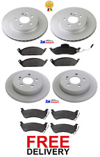 1999-01 2.7TD REAR DISCS AND PADS FOR MERCEDES-BENZ M-CLASS ML270 OEM FRONT