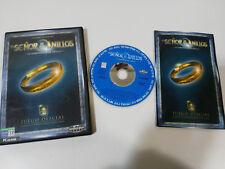 IL SIGNOR DEGLI ANELLI LA COMUNITÀ DEL ANELLO PC CD-ROM SPAGNA BLACK LABEL GM