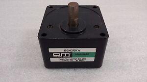 Oriental Motor 5GN25KA  Gearhead