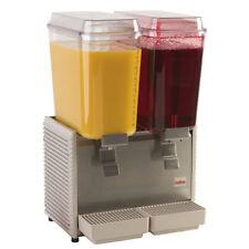 Grindmaster-Cecilware D25-4 Crathco Bubblers 2-Bowl Refrig. Beverage Dispenser