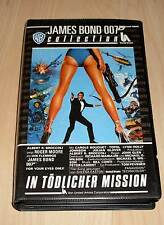 VHS - James Bond 007 - In Tödlicher Mission - Roger Moore - Videokassette