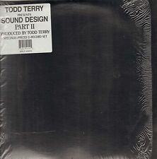 TODD TERRY - Sound Design Part II - 1992 - Freeze - MRLP-550015 - Usa