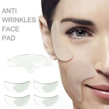 5PC Set Silicone Anti Wrinkle Face Pads Face Lift Reusable Invisible Fine Line