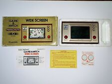 NINTENDO GAME & WATCH PARACHUTE WIDESCREEN  PR-21 1981 Boxed In Good Condition.