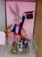 BUGS BUNNY 50TH ANNIVERSARY LIMITED EDITION PORCELAIN STATUE 587/5000  WB 1990