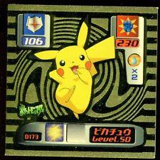 POKEMON NINTENDO SUPER DX GOLD N° D173 PIKACHU