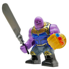 Thanos (End Game) - Marvel Big Figure Lego Moc Minifigure Gift For Kids