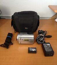 Sony Handycam DCR-SR47 60GB 60X optical zoom face detection Great condition!