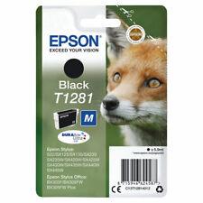 Epson T1281 Black Genuine/Original Ink Cartridges For Epson UK SX425W SX430W SX