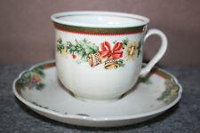 Seltmann Weiden Marie Luise Christmas Dream Kaffeetasse mit Untertasse NEU