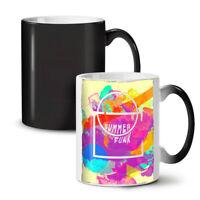 Summer Funk Sunny NEW Colour Changing Tea Coffee Mug 11 oz   Wellcoda
