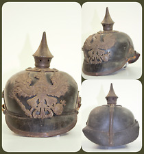 Pickelhaube (Helmet with pike), Prussian soldier sample of 1915