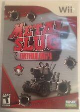 Metal Slug Anthology  (Nintendo Wii, 2006) Complete