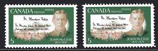 1968 Canada SC# 487 - 487i John McCrae Stroke in A CANADA Lot # 398 M-NH