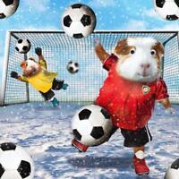 Festive Football Googlies Christmas Card Tracks Wobbly Eyes Greeting Cards