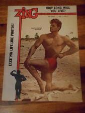 ZING bodybuilding muscle gay interest magazine FRANK KLEINER 6-59