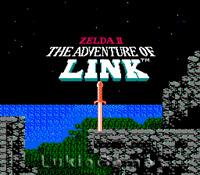 Zelda II 2 - The Adventure Of Link - NES Nintendo Game