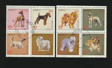 Domestic Dogs Complete Set of 8 (Rotary International) 1984 Gairsay Cancelled se