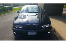 FIBER NATION made by SEIBON 97-03 BMW 5 Carbon Accented Fiberglass Hood GTR E39