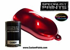 Litre Paint Kit of Candy Ruby Red, Automotive Paint Urethane Based, Custom Paint