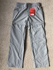 New The North Face Convertible Hiking Pants (Trousers/shorts) XS 6,S 7-8,M 10-12