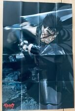 �Fold Type】Berserk Guts A1 Size Anime Double Side Original Poster