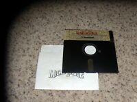 """Karateka for Apple II+/IIe/IIc on 5.25"""" disk"""