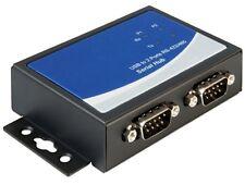USB 2.0 - 2x RS422 / RS485 Sub-D D-Sub Adapter mit FTDI FT232HL Chipsatz seriell