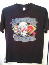 Bon Jovi 1989 We're Back Kickin' A$ T Shirt Single Stitched Vintage Size L