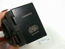 Original Leica Leitz Summitar Sonnenblende Lens Shade Hood A42 42 42mm 1080/9
