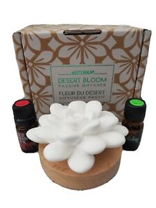 NIB DoTerra Holiday 2020 Desert Bloom Passive Diffuser w 5mL Holiday Joy & Peace