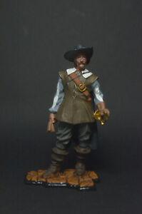 Tin soldier Captain Alatriste 54 mm
