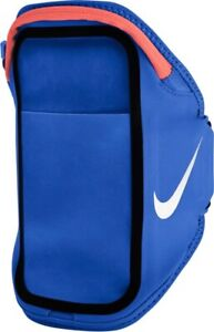 Nike Pocket Arm Band Plus Phone Case 129862 Zip Pouch Blue Pink Running Unisex
