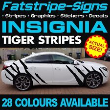 VAUXHALL INSIGNIA TIGER STRIPES GRAPHICS STICKERS STRIPES DECALS VXR OPEL TURBO