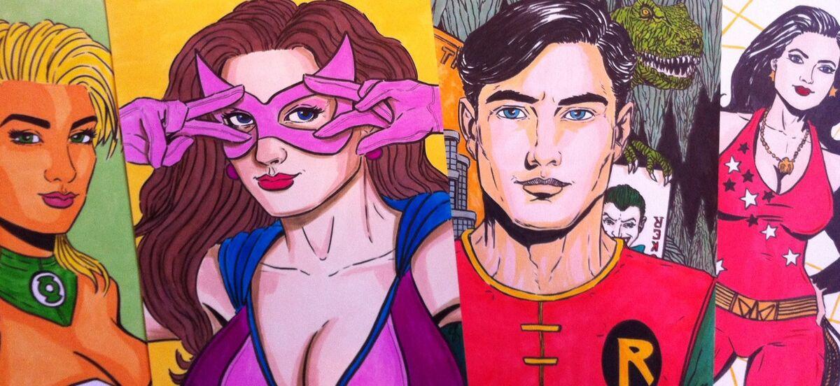 RETRO SPLASH! Comics & Art