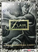 1994-95 Fleer Flair Basketball Factory Sealed pack of cards (1 pack) SERIES 2