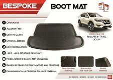 For NISSAN X-TRAIL 2014-19 Tailored Rubber Boot Fitted Mat Dog Tray