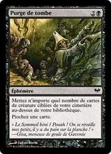 MTG Magic DKA FOIL - Gravepurge/Purge de tombe, French/VF