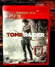 Tomb Raider Greatest Hits Ps3 Sony PlayStation - Brand New -Us Version - Sealed