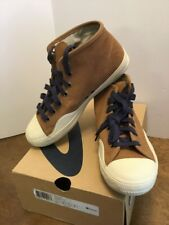 Tretorn Racket H Mid High Top Brown Suede Shoes Mens Size 7 New